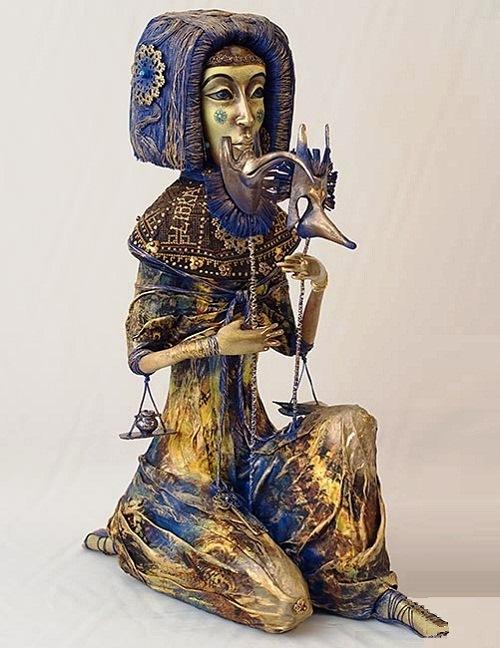 Philosophical Dolls by Nadezhda Sokolova
