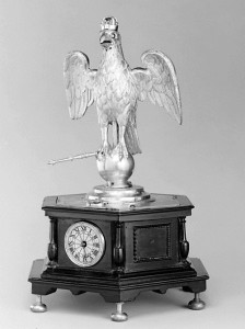 Automaton clock in the form of an Eagle, 1630, German, Augsburg