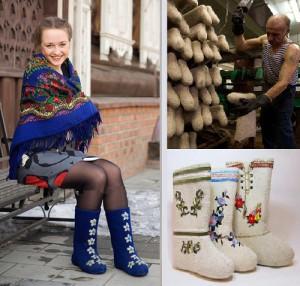 Valenki - best winter footwear