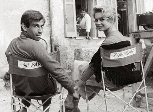 Brigitte Bardot and Vadim