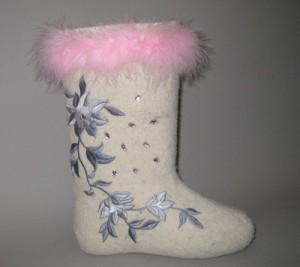 Felted Valenki best winter footwear