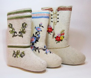 Felted Valenki best winter footwear