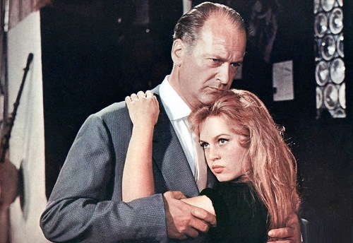 Brigitte Bardot in 'And God created woman', 1956