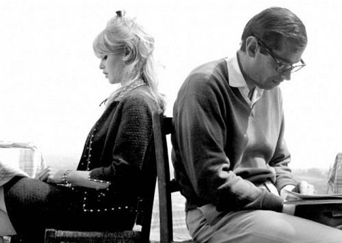 Brigitte Bardot and Roger Vadim