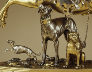 Diana and the Stag, details