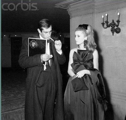Glamorous couple, Deneuve and Vadim