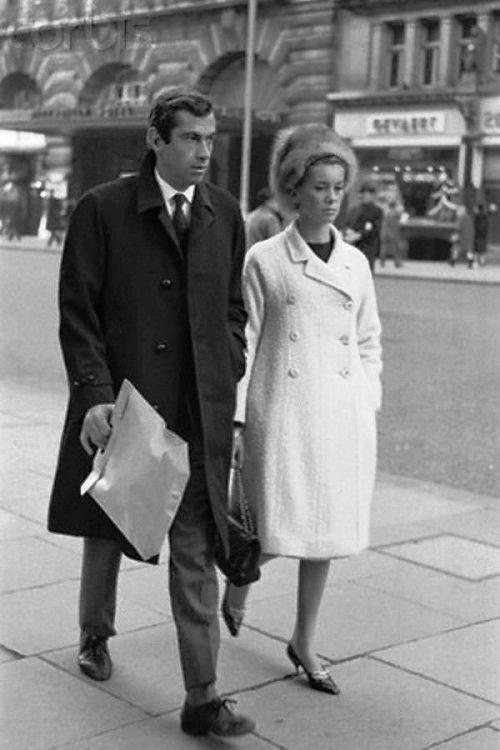 Catherine Deneuve and Roger Vadim