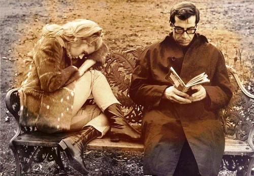 Roger Vadim and Catherine Deneuve