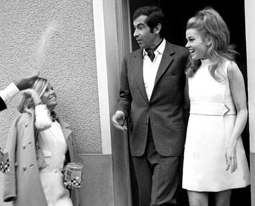 Jane Fonda and Roger Vadim