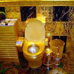 Toilet of gold - Lenin dream come true