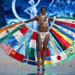 Miss Universe 2012 contestants in national costumes
