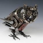 James Corbetts car-parts sculptures