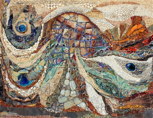 Painting with stones Ilana Shafir