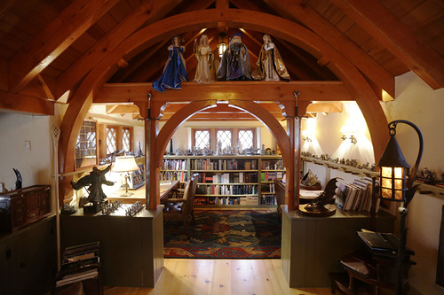 House of hobbits built by American architect Peter Archer in Pennsylvania