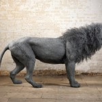 Amazing sculpture of a King of animals - Lion