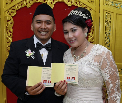 Happy just married. 12-12-12