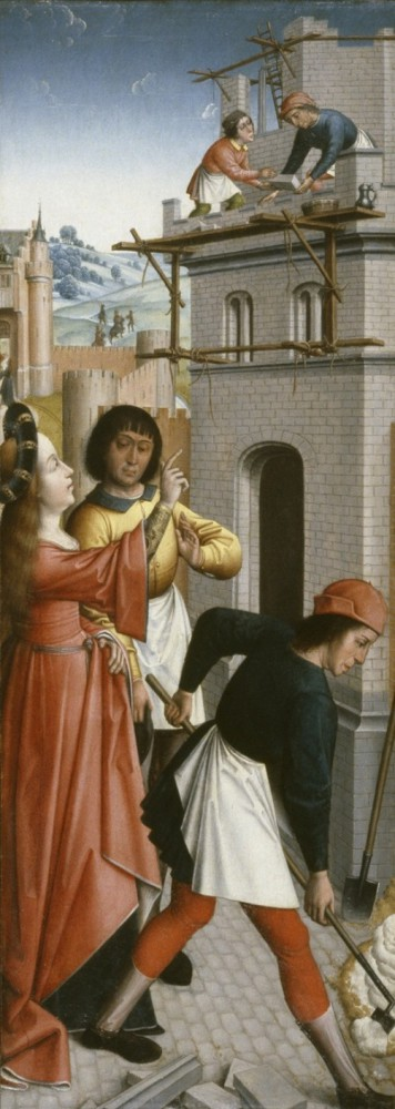 Beautiful Saint Barbara in art