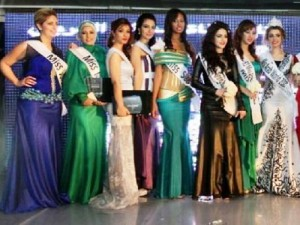 Miss arab world beauty pageant