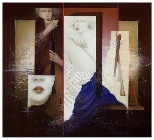 Belgian artist Jean Claude Dresse