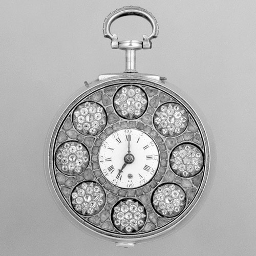 Pair-case automaton watch, ca. 1770–75, Signed by James Cox