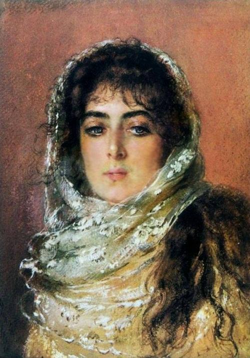 Russian artist Konstantin Makovsky