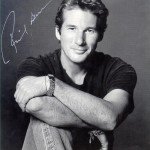 I have a lot of beautiful friends.. Richard Gere