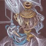 Beautiful String art by Olga Voronova