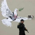The Dove is Targeted. Banksy's Environmental Message