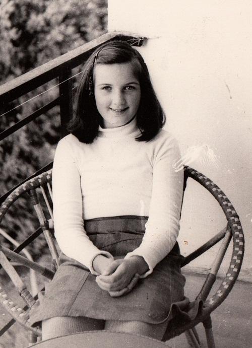 Valeria in her childhood, Russia