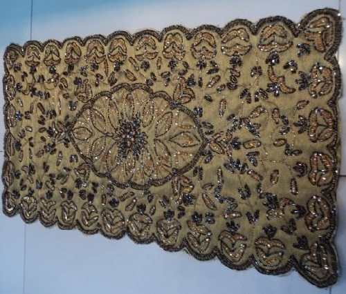 Wall carpet - Zardozi embroidery