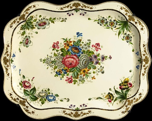 Zhostovo trays beautiful folk art