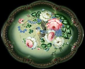Zhostovo trays beautiful folk art