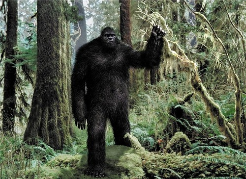 another creative image of Bigfoot