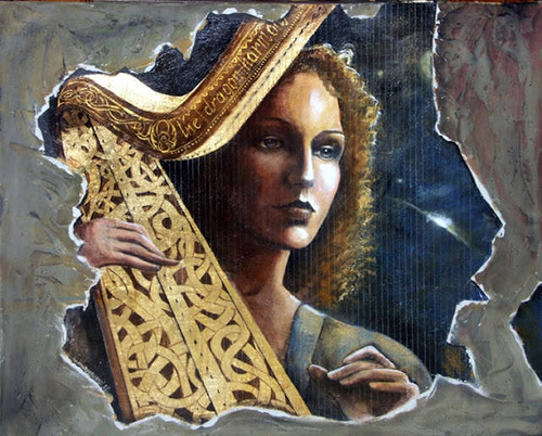Angela Betta Casale's paintings
