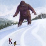 creative approach to Bigfoot image