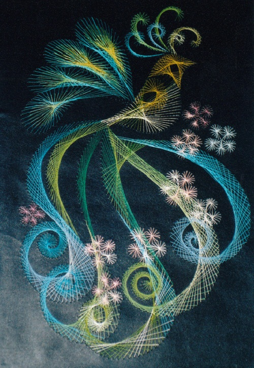 Beautiful String art by Olga Voronova
