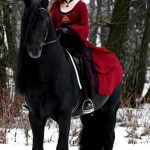 Woman and Horse Photographer Irina Bondarkova