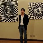 Born in Milan (1976) Italian artist Danilo Martinis