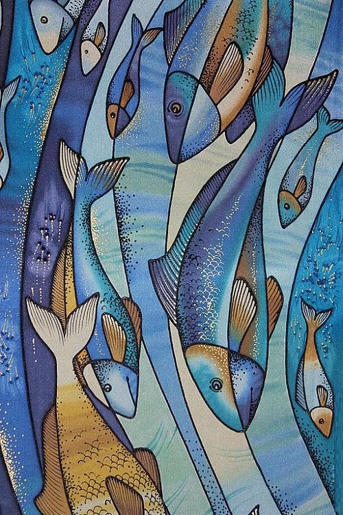 scarf fish