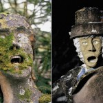 Creepy sculptures