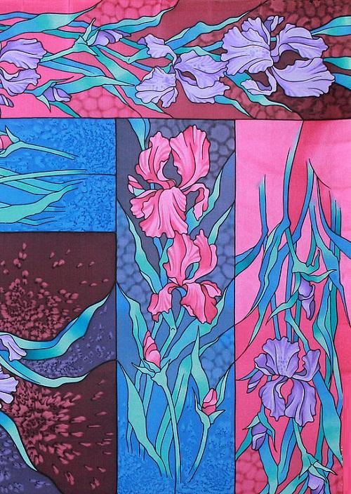 shawl irises