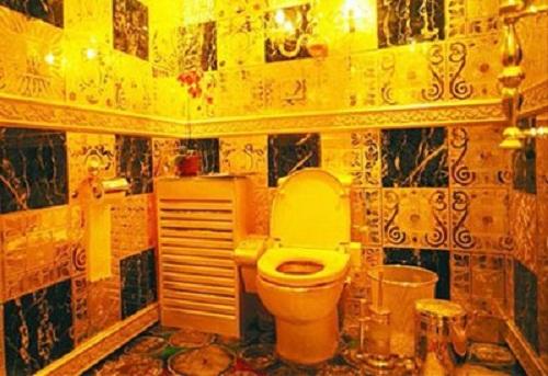 Toilet of gold - Lenin's dream come true
