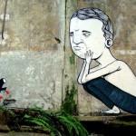 street art by Italian artist Seacreative
