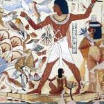 tapestry Egyptian fresco
