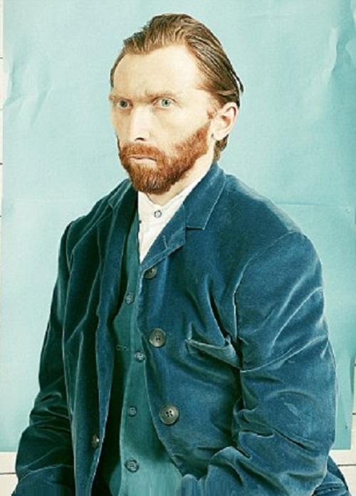 Photographic recreation of Van Gogh