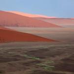 Beautiful Namib desert Surreal landscapes