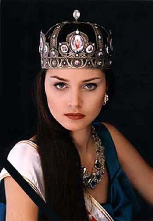 Miss Russia Alexandra Petrova 1980-2000