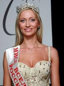 Beautiful model, Miss Kuzbass 2003, Vice-Miss Siberia 2003, Miss Universe Russia 2006 Anna Litvinova