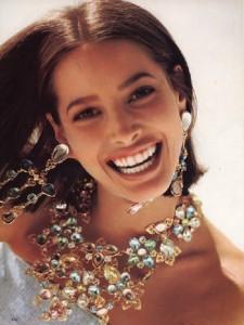 Christy Turlington model and humanitarian