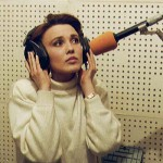 Tatyana Snezhina in the studio
